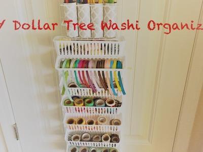 DIY Dollar Tree 150+ Washi Organizer - Easy Less than $5