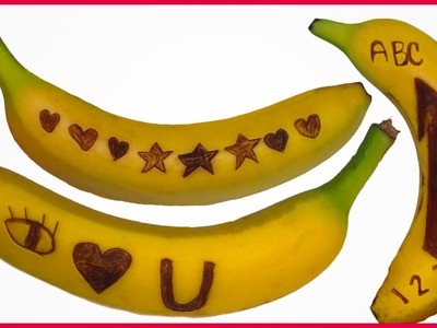 DIY How to Make Secret Spy Banana Messages