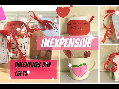 DIY inexpensive Valentines day gifts to boyfriend.girlfriend.best friend 2017 | Easy budget student