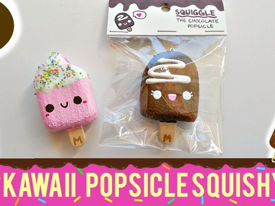 DIY Kawaii Mini Popsicle Homemade Squishy | mishcrafts