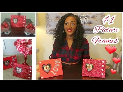 DIY Michael's $1 HotSpot | Wooden Heart ❤ Picture Frame | Valentine's Day