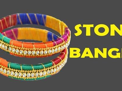 DIY - Mythos ZIG ZIG Silk Thread Weaving Bangles Set Jewellery Making Tutorials 2017 | New Designs