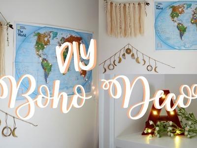 DIY Pinterest Room Decor | Wanderlust & Boho Inspired