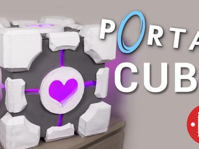 DIY Portal Companion Cube Box || How-to