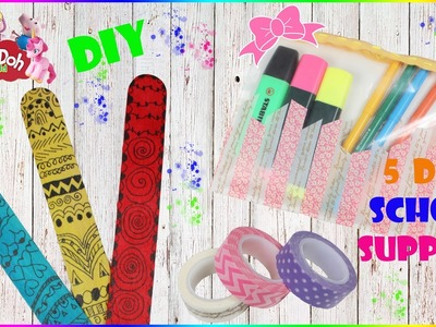 DIY School Supplies | Easy Diy Craft For Back To School