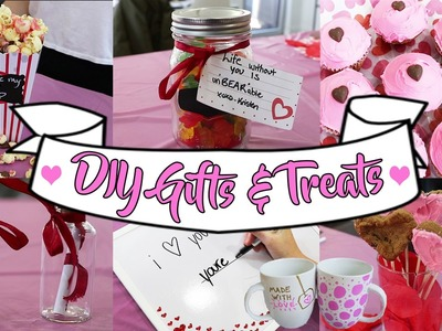 DIY VALENTINE'S DAY GIFTS & TREATS FOR EVERYONE