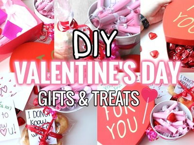 DIY Valentine's Day GIFTS & TREATS ideas