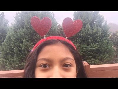 DIY Valentine's Day Headband!