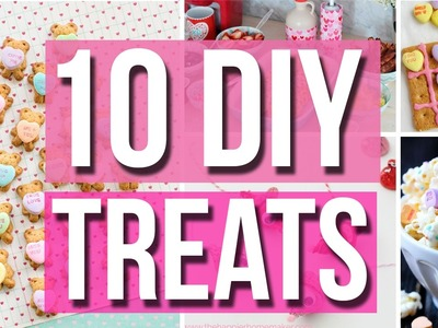 DIY Valentine's Day Treat Ideas!