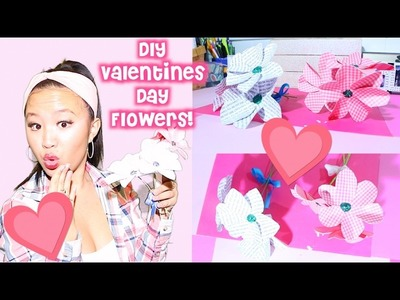 DIY Valentines Day FLOWERS (For Your Valentine)