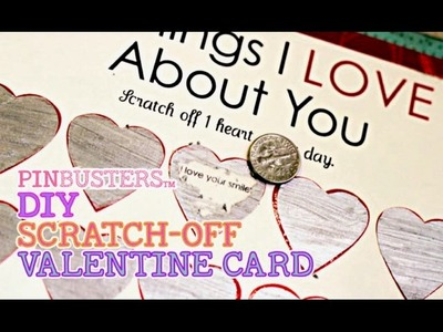DIY Valentines Day Scratch Off Card . DOES THIS REALLY WORK?