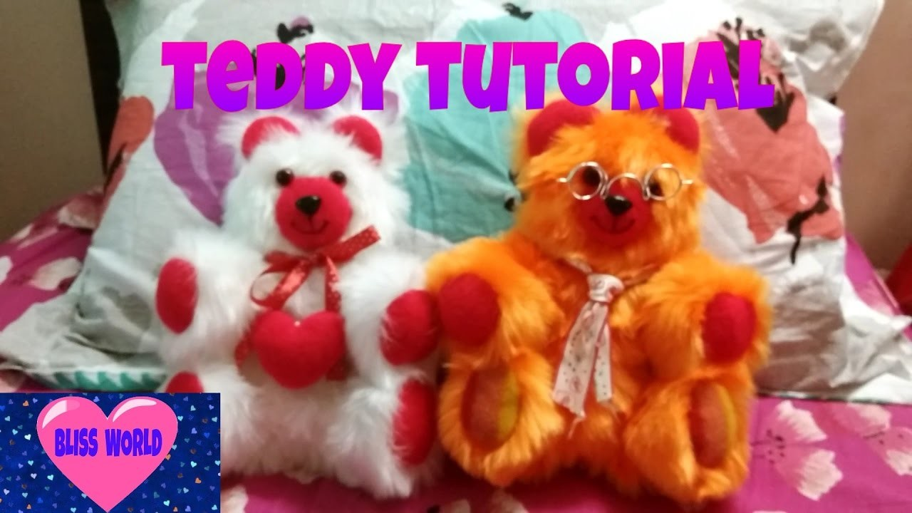 Easy and simple teddy tutorial