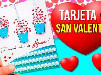 EASY DIY Valentine's CARD * DIY Tarjeta FÁCIL de SAN VALENTÍN ✅  Top Tips and Tricks in 1 minute