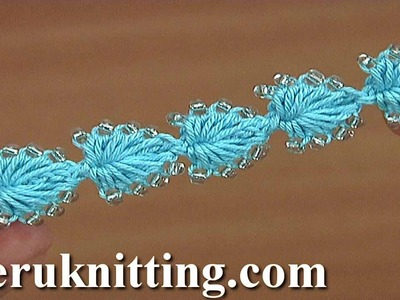 Easy to Crochet Heart String With Beads Tutorial 165