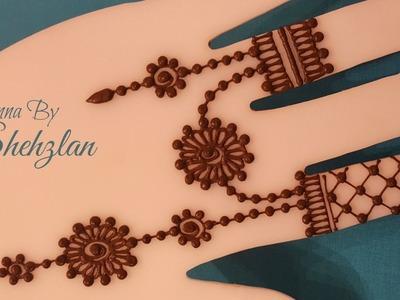 Henna By Shehzlan: How To Henna Tutorial #22 (Jewelry Style)