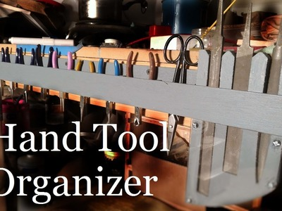 How I made a Tool Organizer for Jewelry Bench