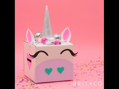 How to DIY a Unicorn Valentine's Box - Originals Video