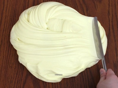 How to Make Butter Slime! DIY Soft, Stretchy Butter Slime without Clay Slime Recipe!