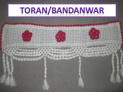 How to make Toran.Bandanwal using crochet [Hindi]