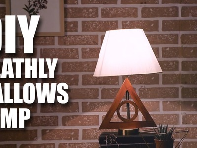 Mad Stuff With Rob - Deathly Hallows Lamp | Harry Potter DIY