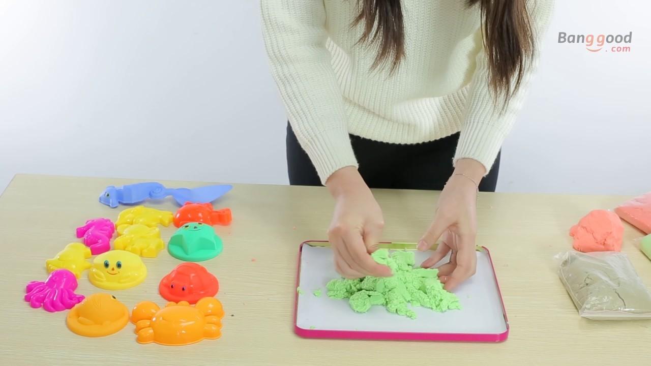 Magic Sand Multi-colors DIY Kids Indoor Play Toy