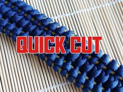 Modified JLC Bar Paracord Bracelet Tutorial Quick Cut
