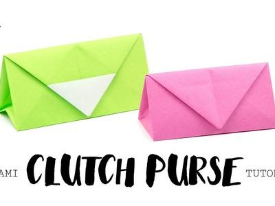 Origami Clutch Purse Tutorial ♥︎ DIY ♥︎ Paper Kawaii
