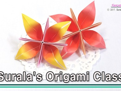 Origami - Flower (How to Make an Origami Flower)
