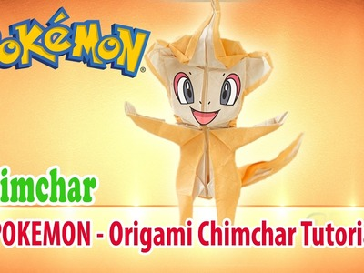 POKEMON - Origami Chimchar Tutorial  ♡ Origami THs.