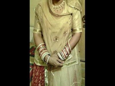 Rajasthani Ghagra Poshak Sewing part 1 of 2