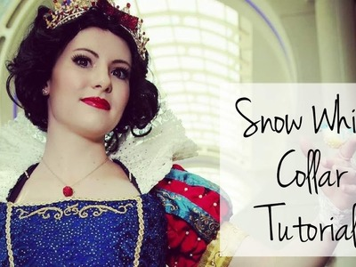 Snow White Costume Tutorial - Elizabethan Stand Up Collar