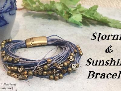 Storms & Sunshine Bracelet Jewelry Tutorial