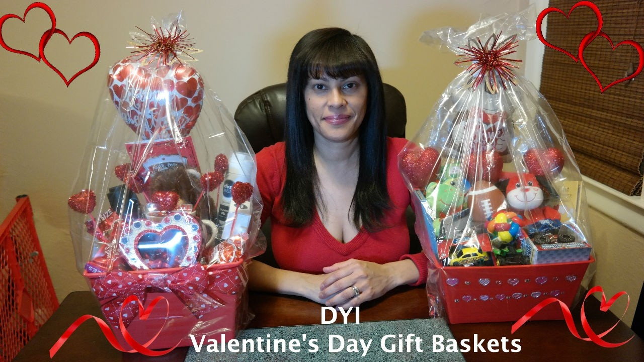 Valentines Day Gift Baskets Diy