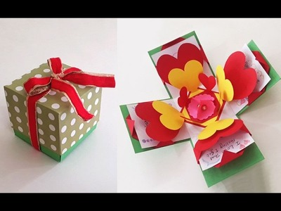 Valentine Special DIY Crafts : How to Make an Exploding Box Card for This Valentine | Love Cards