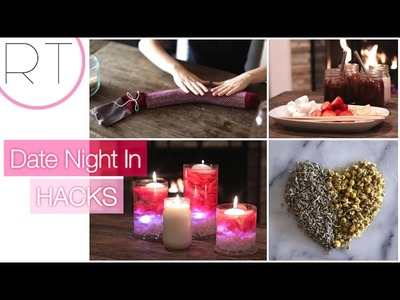 VALENTINES Date Night In (DIY Ideas)