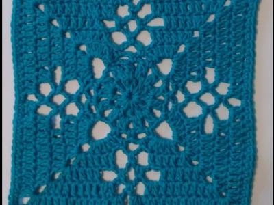 Victorian Lattice Square Crochet Tutorial CAL Crochet along