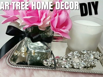 2017 DOLLAR TREE CHEAP SHABBY CHIC HOME DECOR DIY (flower vase)