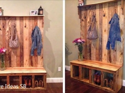 40 Creative DIY Pallet Furniture Ideas 2017 - Cheap Recycled Pallet - Chair Bed Table Sofa Part.2 -