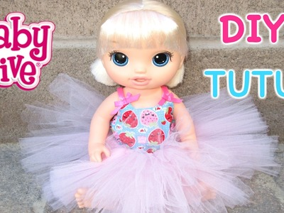 BABY ALIVE DIY Tutu For Baby Alive Doll!