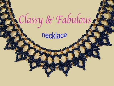 CLASSY and FABULOUS Saraguro Necklace! Tutorial is now available in English!!!