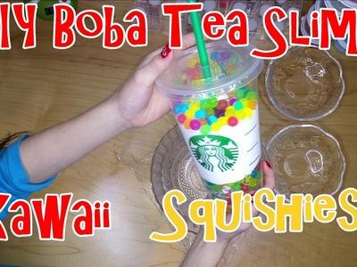 DIY BOBA TEA SLIME | From Kawaii Slime |