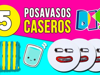 DIY Coasters. POSAVASOS caseros ✅  Top Tips and Tricks in 1 minute