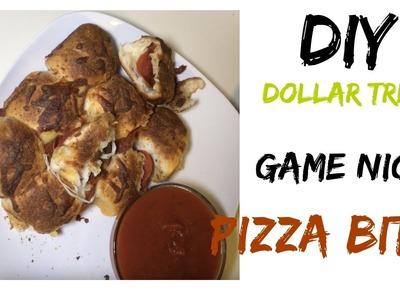 DIY DOLAR TREE GAME NIGHT PIZZA BITES