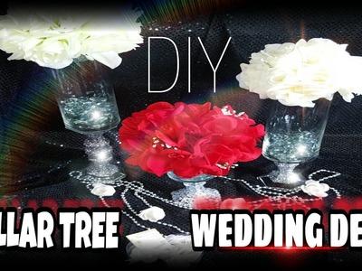 DIY || DOLLAR TREE VALENTINE'S DAY & WEDDING BLING CENTERPIECE