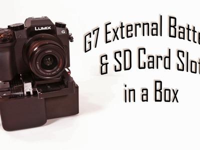 DIY External Battery & SD Card Slot Mod Box for the Panasonic G7 Ep. 15
