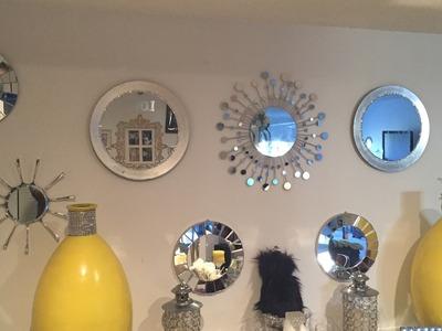 Diy Glam Wall Decor. Mirror Gallery