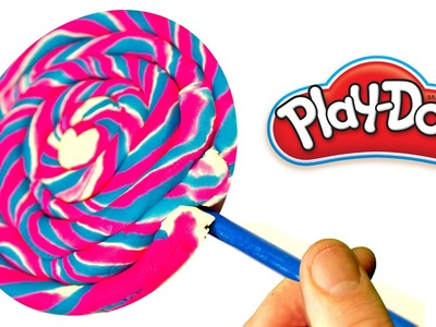 DIY HOW TO MAKE a Giant Play Doh CANDY of Modelling Clay | How to make Play Doh ICE CREAM