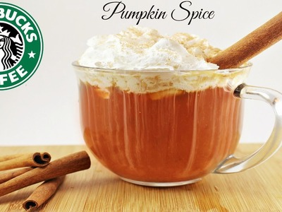 DIY INSTANT Starbucks Pumpkin Spice Latte!! SUPER EASY!!!