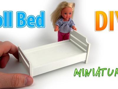 DIY Miniature Bed  | DollHouse