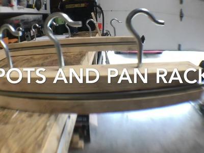 DIY Pots and Pan Organizer